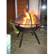 Vuurkorf met deksel