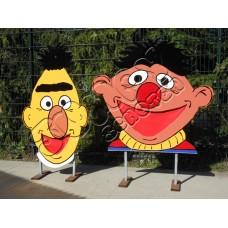 Bert Ernie golfspel